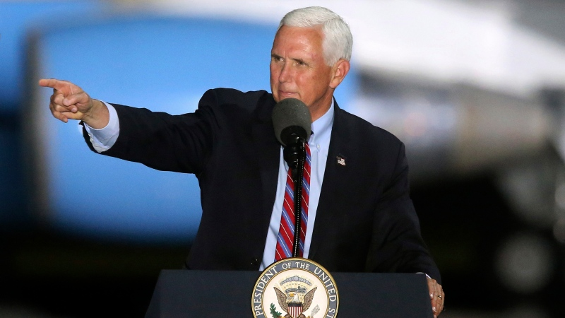 Pence will still campaign as aides test positive
