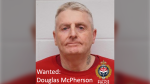 """Police are searching for wanted man Douglas McPherson in Victoria who is considered a """"high-risk"""" offender: (Victoria Police)"""