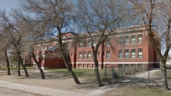 The Kitchener Community School in Regina will be closed this week after four students were diagnosed with COVID-19. (Google Maps)