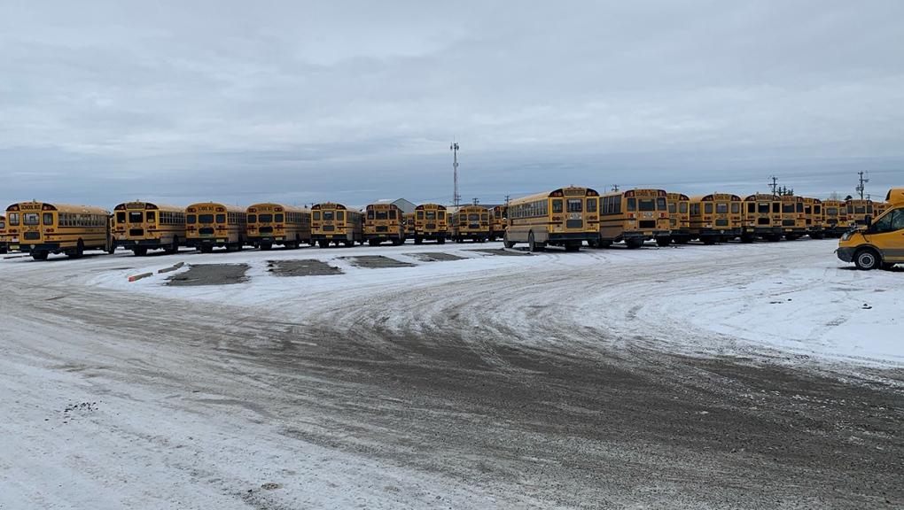 Southland Transportation, school buses, Cochrane
