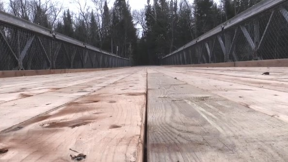 A North Bay bridge restoration means good news for trail users such as hikers, cyclists and snowmobiles in the winter.