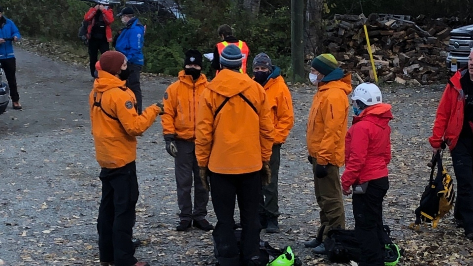 Comox Valley Search and Rescue is just one of dozens of search and rescue teams from across the province who are looking for a missing father and son pair near Pemberton: (Comox Valley Search and Rescue)