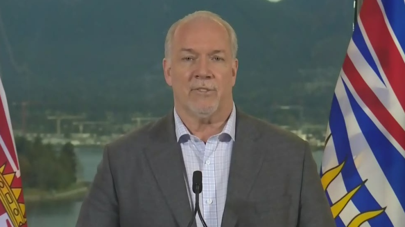 B.C.'s premier-elect returns to work