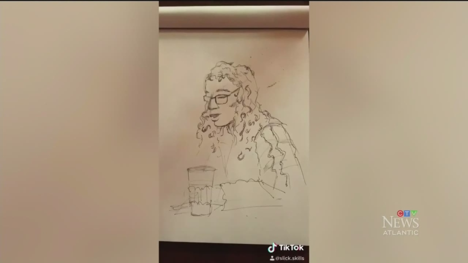 N.S. artist makes surprise sketches