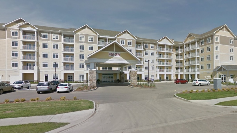 As of Oct. 26, 2020, 34 residents at the St Albert Retirement Residence have tested positive for COVID-19 since the outbreak began on Sept. 28 (Google Street)