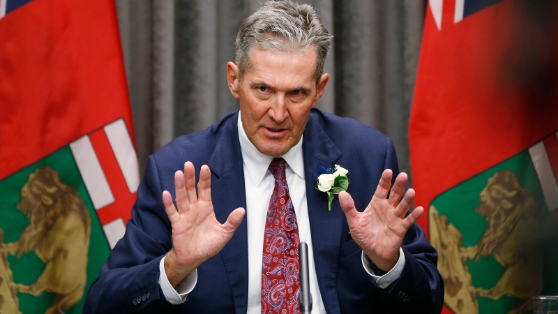 Pallister on COVID-19: 'Get with the program'