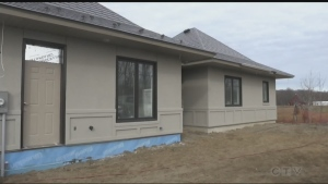 A northern home builder is getting together with a new company based out of southern Ontario with a way to seal in homes to keep the cold out.