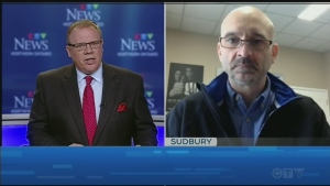 Brendan Connor discusses the COVID-19 outbreak at a Sudbury highschool with Eric Laberge of the Ontario Secondary School Teachers' Federation.