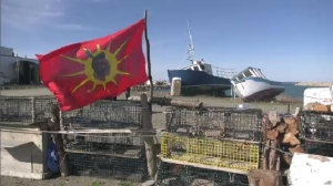 Bear River First Nation Chief Carol Dee Potter says her fishers have been forced out of St. Marys Bay due to the ongoing dispute.