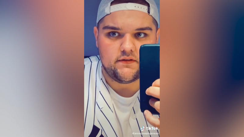 Jesse Geneau, a 24-year-old man from Fort McMurray, amassed 2.4 million followers on TikTok with his I Need Answers videos.