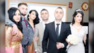 Aram Nadiri, second from left, with his family members.