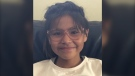 Winnipeg Police said 11-year-old Nevaeh Roundhead (pictured) was last seen on Oct. 20 in the River Heights area of the city. (source: Winnipeg Police Service)
