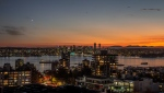 The Vancouver skyline is seen at sunset in October 2020. (Jason Cole / submitted)