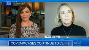 INTERVIEW: Looking at COVID-19 cases in Manitoba
