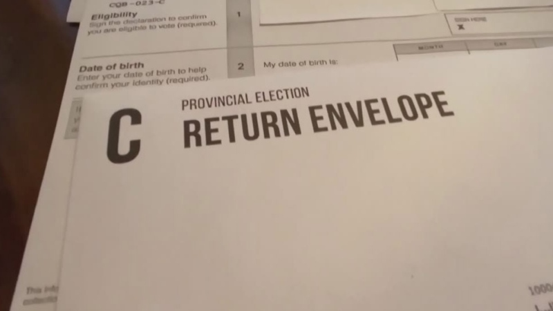 Mail-in ballots to determine island riding