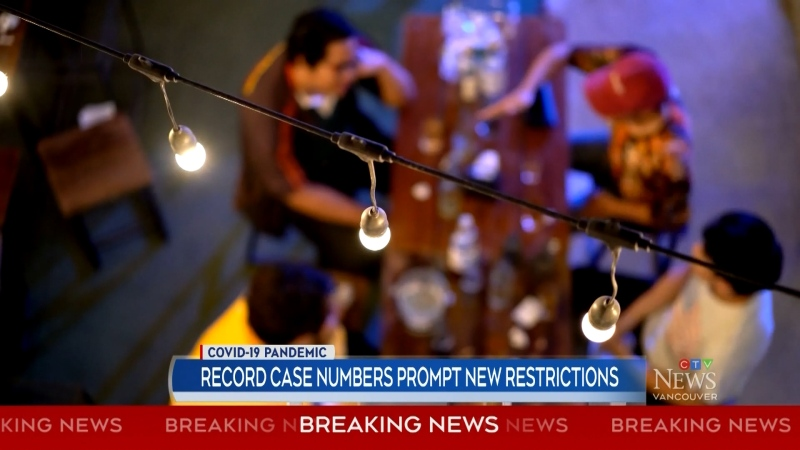 Record case numbers prompt new restrictions