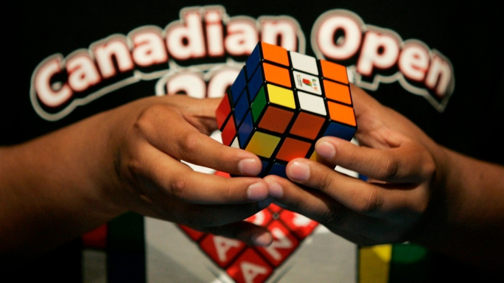 The 1st ever Rubik's Cube Canadian Open in Toronto