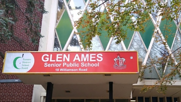 Clen Ames Senior Public School is seen in a Google Streetview image.