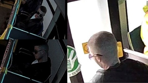 Police are looking to speak to this man regarding an indecent act on a bus in 2018. (@WRPSToday / Twitter)
