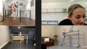More than 900 students from across Western Canada will show off their pliés and pirouettes over Zoom, hoping to be selected to attend the Royal Winnipeg Ballet school in person. (CTV News)