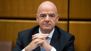 Gianni Infantino assumed office as FIFA president in February 2016. (AFP)