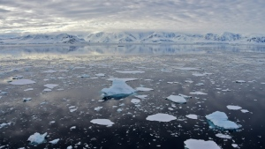 Arctic summer sea ice levels have declined by more than 10 percent each decade since the late 1970s and mountain glaciers have shed roughly 250 billion tonnes of ice annually over the last century. (AFP)