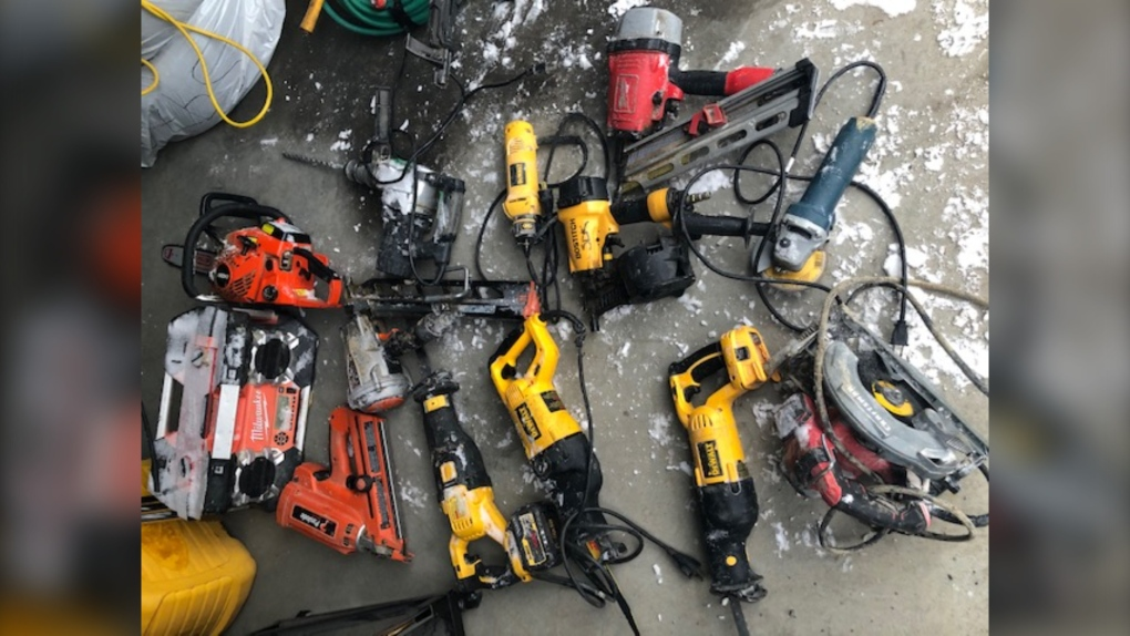 Stolen hand tools recovered