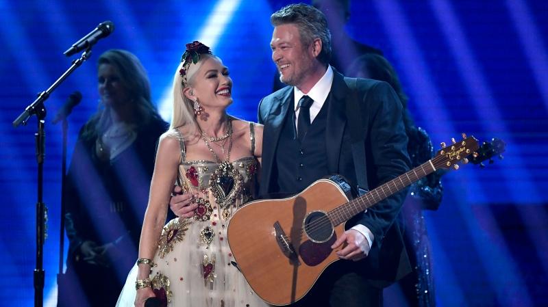 Gwen Stefani and Blake Shelton are engaged. (Kevork Djansezian/Getty Images North America/Getty Images via CNN)