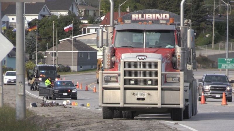 No charges will be laid in connection with a fatal collision in Timmins on Sept. 8 that killed a 59-year-old man who was walking his bicycle along Highway 101. (File)