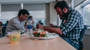 """Employees having lunch together seems to be something that comes up over and over again as a source of outbreak,"" Dr. Etches said. (Photo by Craig Adderley from Pexels)"