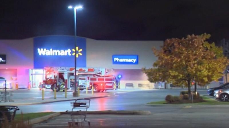 Police still investigating fires at Walmart