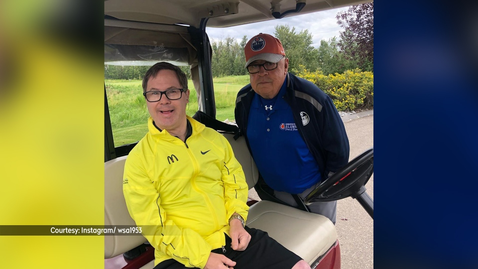 Joey Moss at the 2019 Joey Moss and Friends Golf Classic.