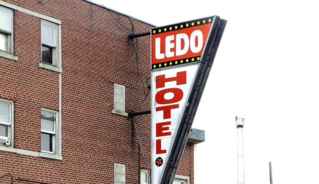 The Ledo Hotel downtown Sudbury is closed after a weekend fire displaced about a dozen tenants and revealed a number of safety issues. (Molly Frommer/CTV News)