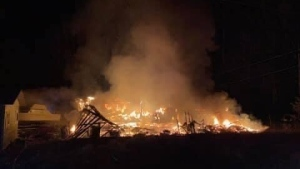 RCMP believe the fire was accidental in nature: (Sayward Fire Department)