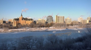 Saskatoon is pictured Oct. 27, 2020. (Chad Hills/CTV Saskatoon)
