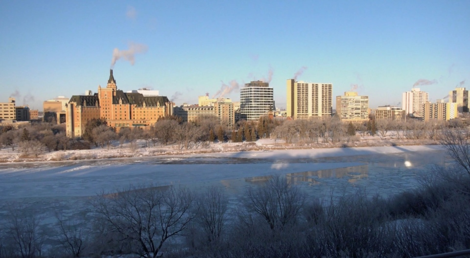 cold saskatoon weather snow ice