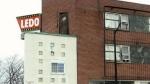 Fire displaces a dozen tenants at Ledo Hotel