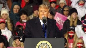 Donald Trump holds campaign event in Nebraska