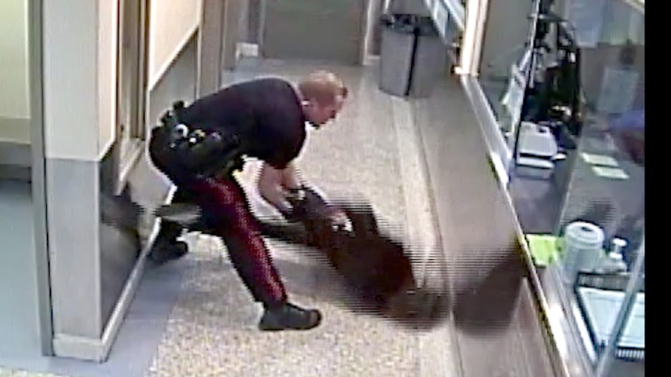 Calgary violent arrest