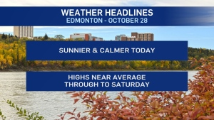Oct. 28 weather headlines