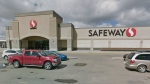 An employee at this Safeway at 12950 137 Ave. in Edmonton has tested positive for COVID-19 (Photo: Google Street View).