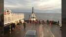 Two and a half hour trip from Duke Point to Tsawwassen turns into six hours due to mechanical issues. (Submitted)