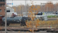 No injuries after train derails in Moncton