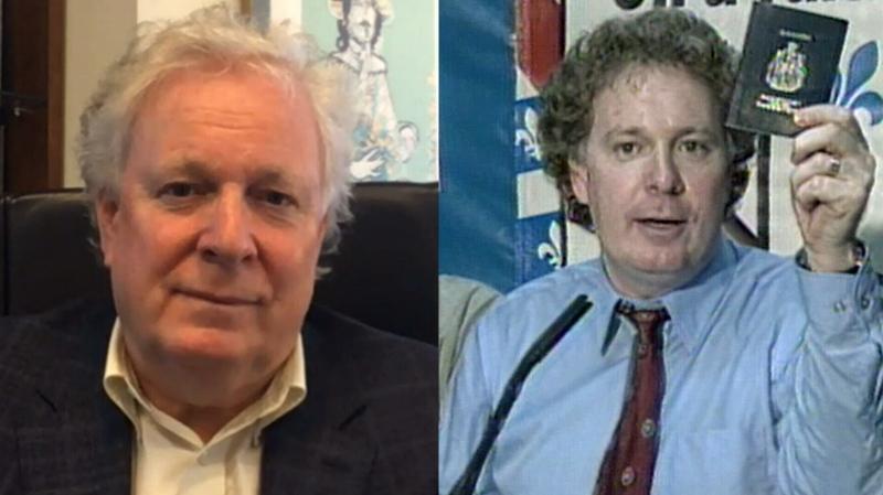 Former Quebec Liberal premier Jean Charest