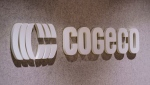 The Cogeco logo is seen in Montreal on Thursday, October 22, 2020. THE CANADIAN PRESS/Paul Chiasson