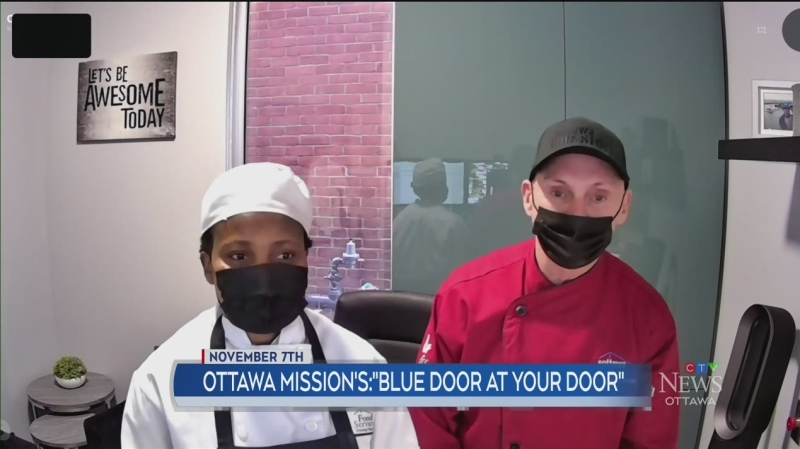 Ottawa Mission's Blue Door at your Door (Part 2)