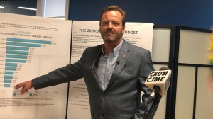 Cary Tarasoff says city needs to invest in attainable housing and community support rather than big-ticket projects. (Francois Biber/CTV Saskatoon)