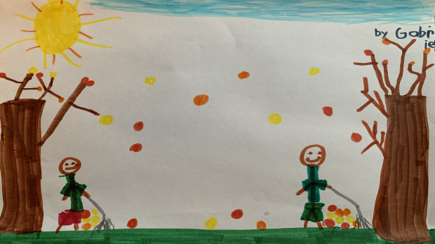 Gabriel, Grade 2, St. Rita Virtual School
