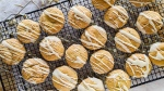 Dangerously good pumpkin cookies with maple drizzle. (CJ Katz)