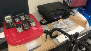 Police say stolen identification was being used to manufacture fake driver's licenses, credit cards, firearms licenses and more: (West Shore RCMP)